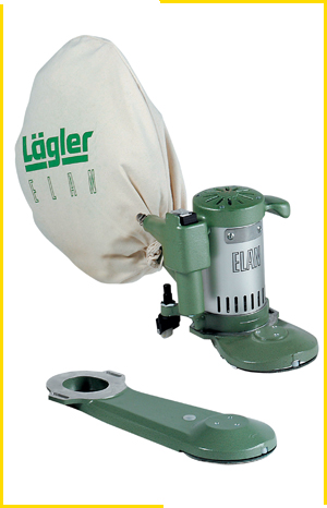 Lagler UK elan edge sander wooden stair sanding