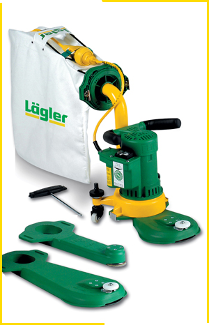 Lagler Flip Wooden Floor Edge Sander edges