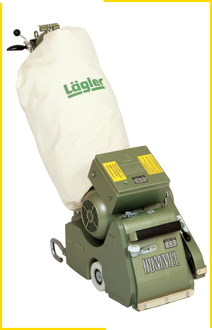 Lagler Hummel Belt Sander For Hardwood Floor Sanding