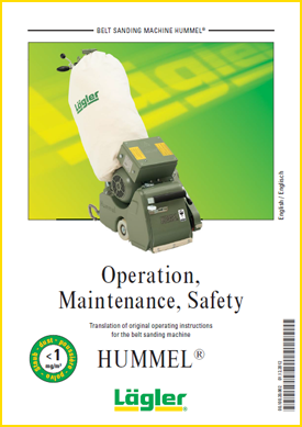 hummel instructions Lagler UK floor sander
