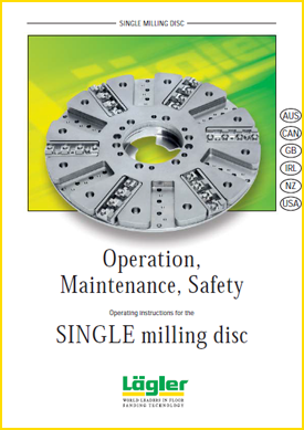 Lagler Single Milling Disc instructions