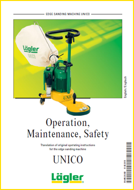 UNICO instructions Lagler UK floor sander