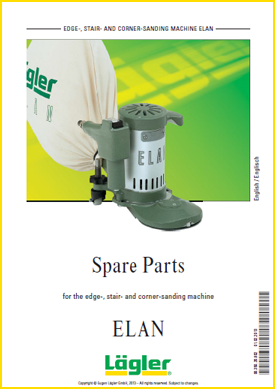 Lagler elan spare parts for floor sanders