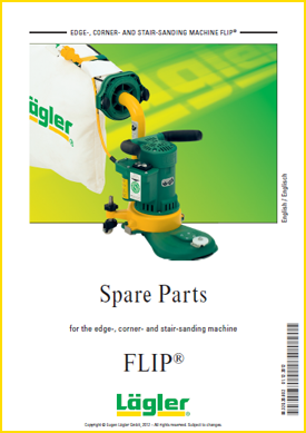 Lagler flip spare parts for floor sanders