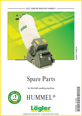 Lagler hummel spare parts for floor sanders