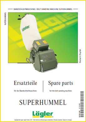 Lagler superhummel spare parts for floor sanders