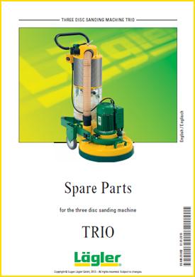 Lagler trio spare parts for floor sanders