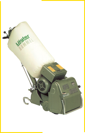 Lagler superhummel industrial commercial 10 inch floor sander uk