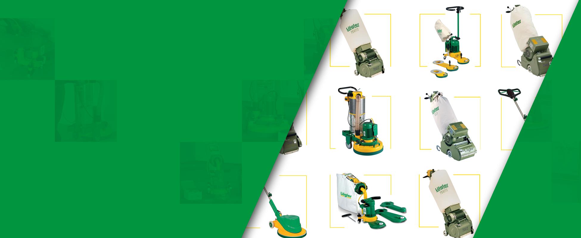 Lagler Edge Surface Drum and Belt Sanding Machines