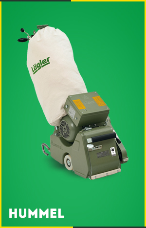 Lagler Hummel Belt Drum Sander Dust-Free