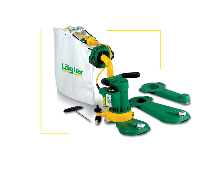 Lagler Flip Edge Sander Machine